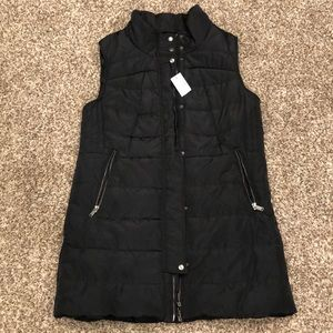 Brand New Maurice's Long Puffer Vest